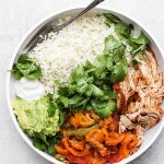 Slow Cooker Chicken Fajitas
