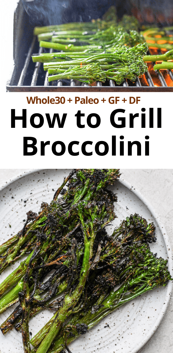 grilled broccolini