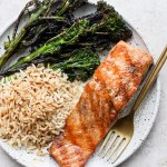 How to Grill Salmon (with skin + without skin)