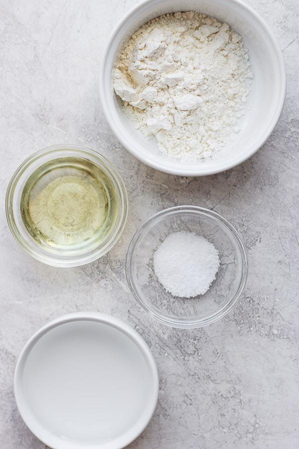 homemade pie crust ingredients
