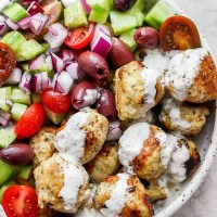 Greek Chicken Meatballs