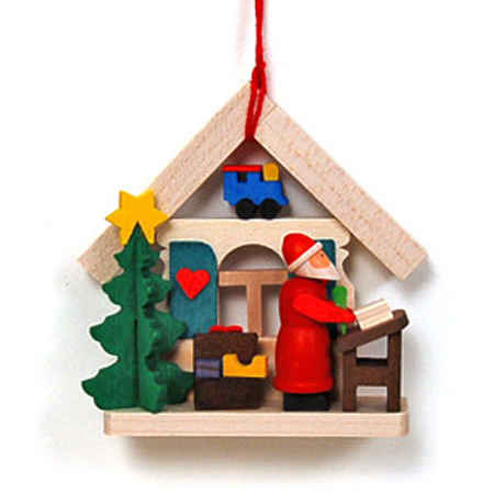 German Wooden Christmas Ornaments