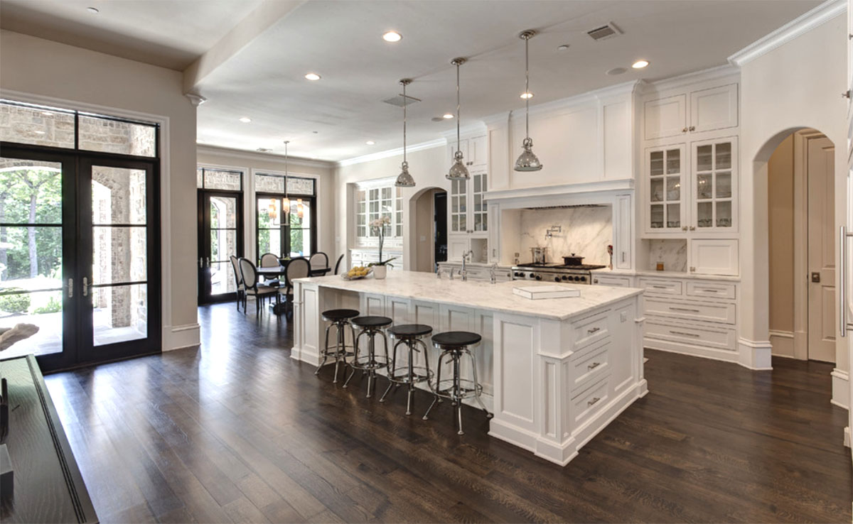 Hickory Granite  White Shaker  Thewoodloorsourcecom