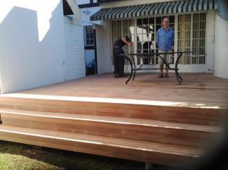 Timber deck builder Durban