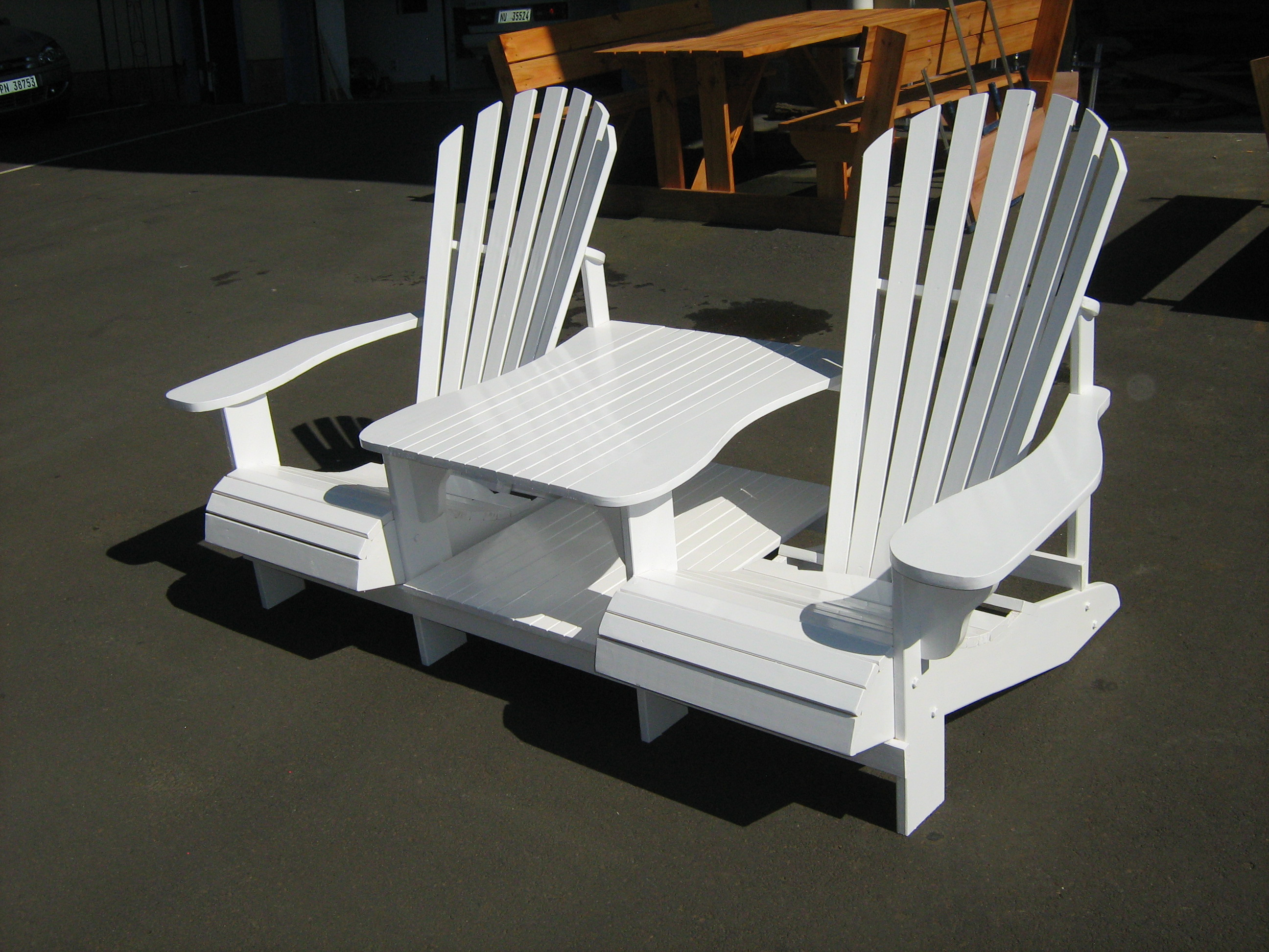 double rocking adirondack chair plans wilson fisher resin wicker reclining patio amazon plan toys horse diy how to make