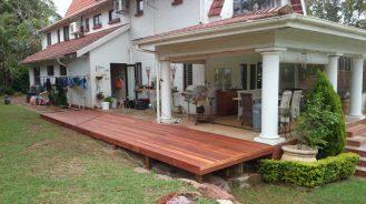 Wooden sundecks Durban North