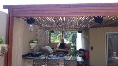 Wooden Pergola Built in La Lucia, Durban 1