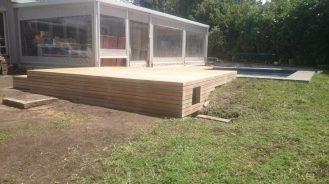Wooden Pool Deck Pinetown December 2014 5