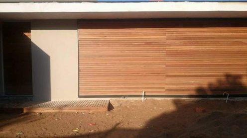Wooden Cladding Umhlanga, Durban June 2015 1