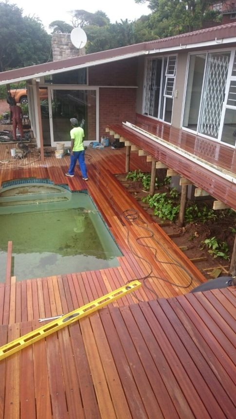 Wooden Deck Umkomaas June 2017 5