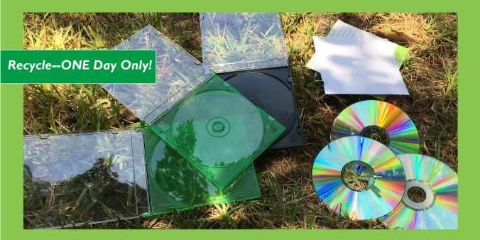 cd dvd recycle