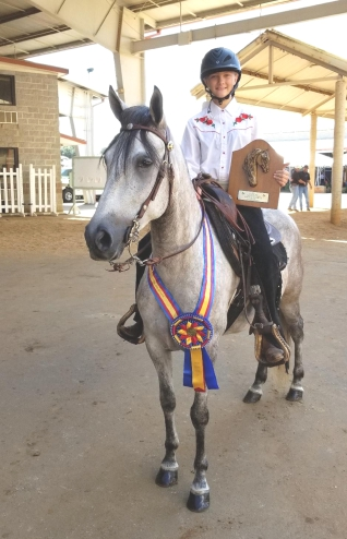 Laney excels as equestrian national champion
