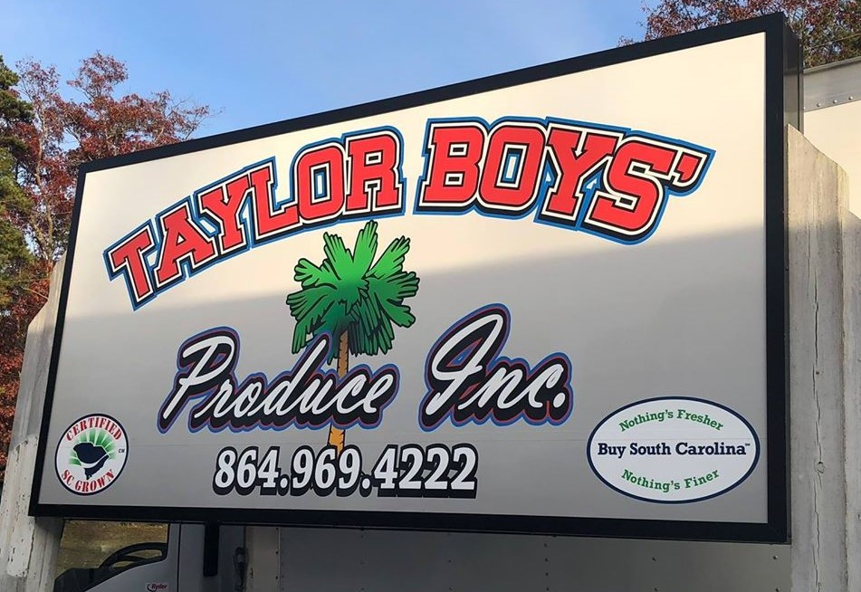 Business Spotlight: Enoree's Taylor Boys' Produce