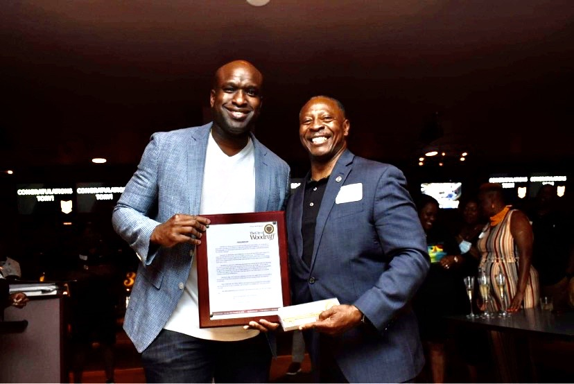 Tory Dandy Honored for Recent Promotion