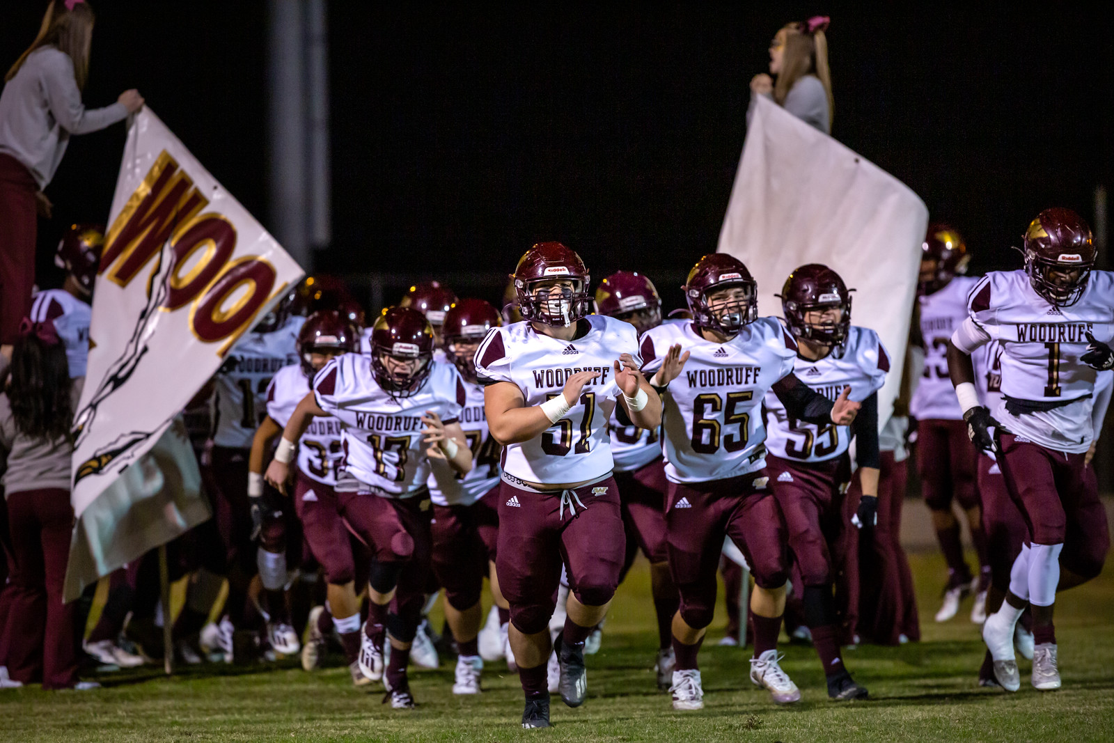 Challenging Season Comes to an End for Woodruff Football