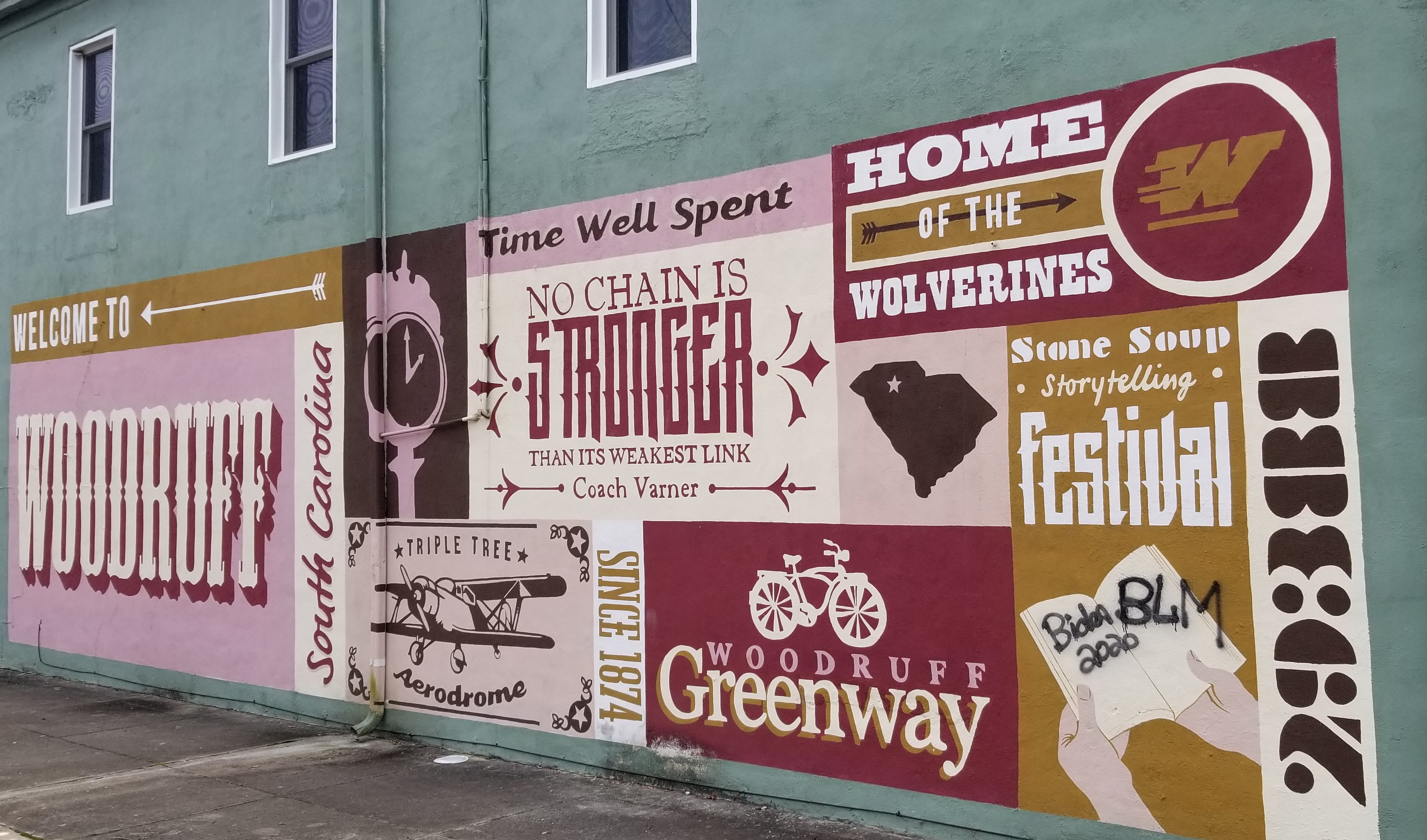 Graffiti, 'Parade' Represent Political Statements In Woodruff