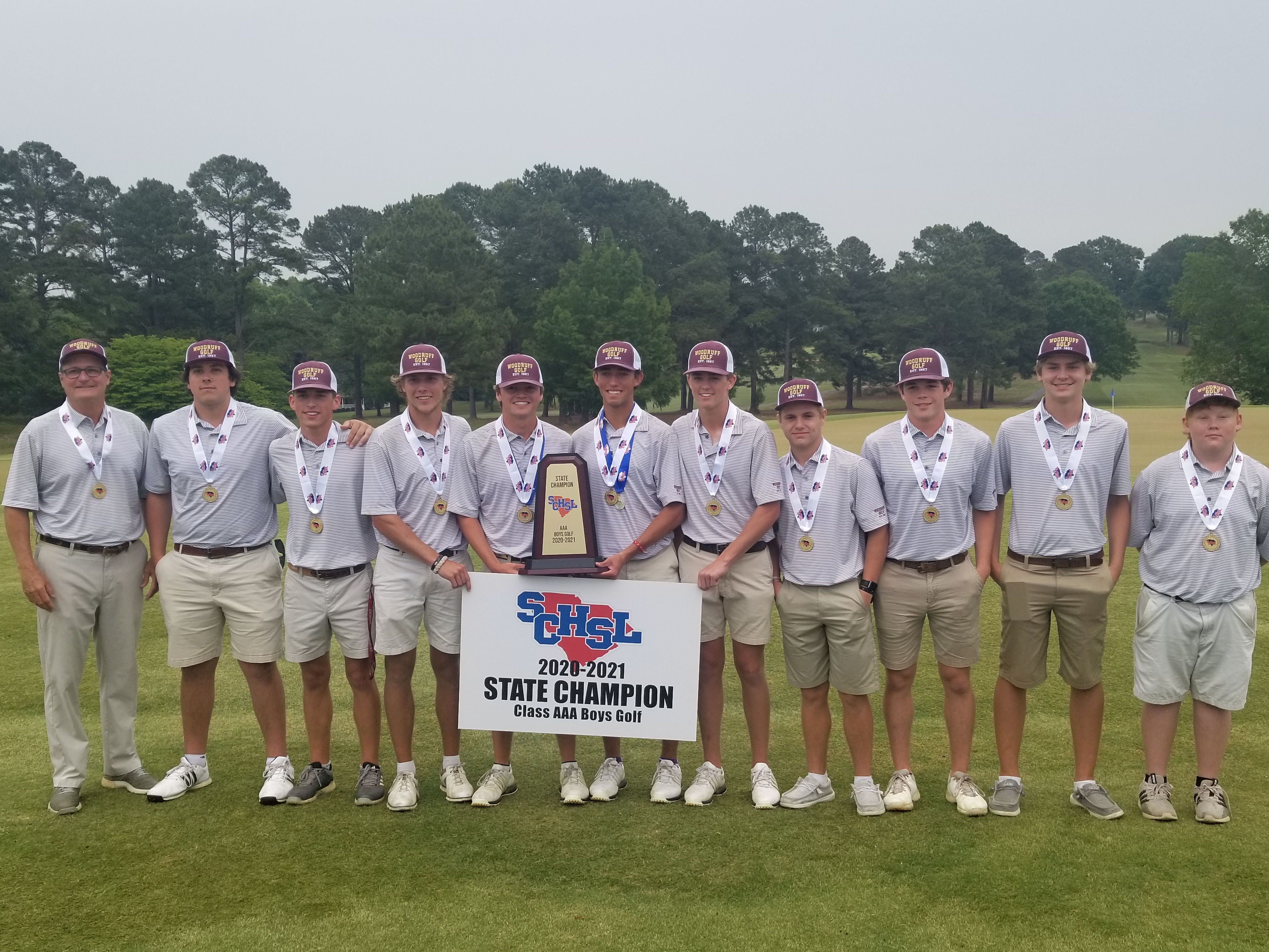 Checkmate! Wolverine Golf Team Wins 3A State Championship over Battling Bishops, Captures First Team Title for Woodruff High in 20 years