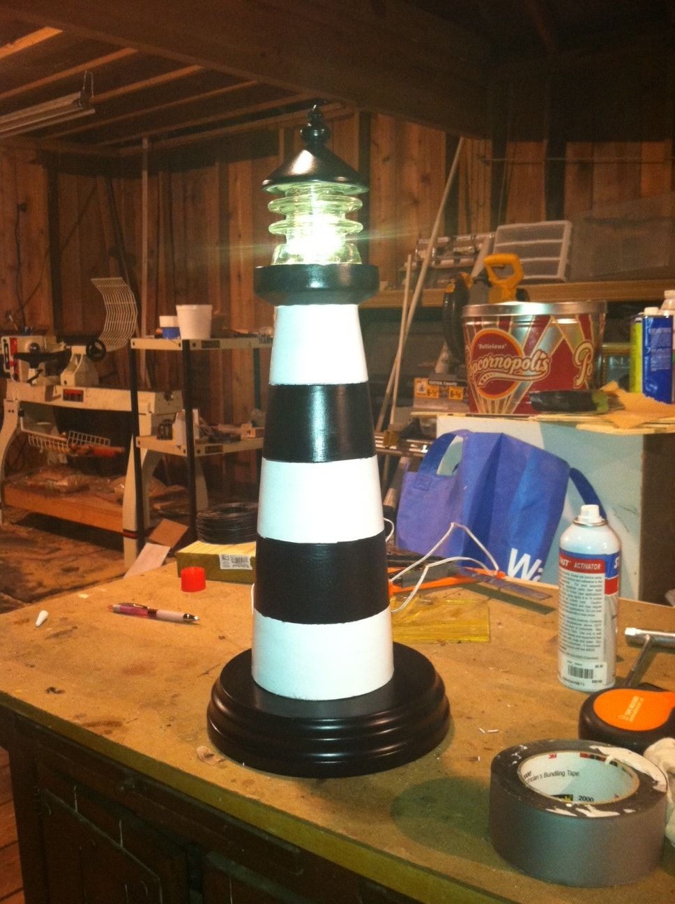 Lighthouse Night Light Woodturning Projects Amp Tips