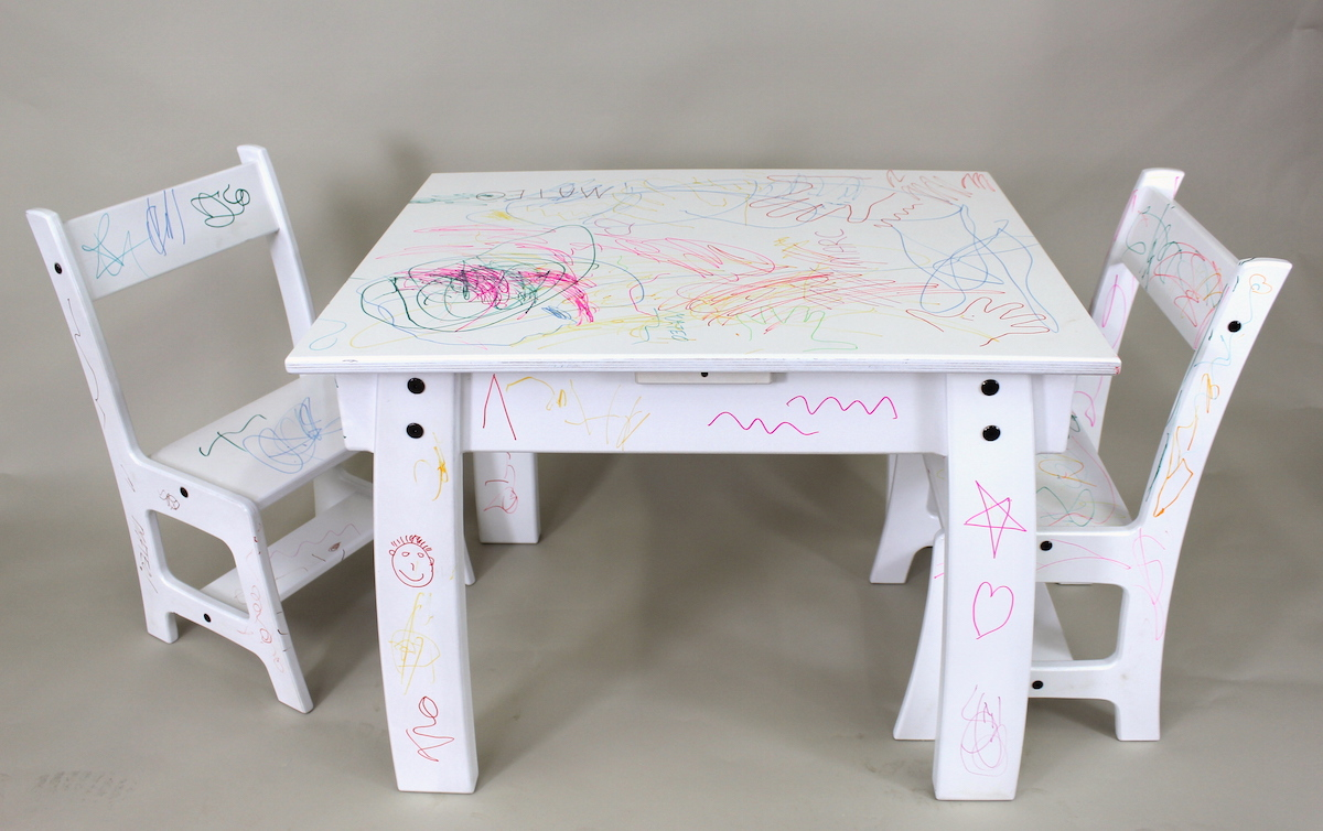 Kids Wood Table And Chairs Kids Table Chair Set The Wood Whisperer