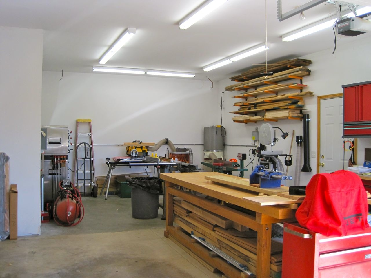 michael s garage wood shop the wood