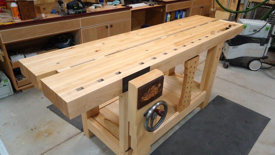 Wood Whisperer Workbench