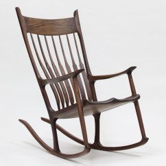 Building A Rocking Chair Fishing Swivel How To Build Maloof Inspired Sculpted Sculptured