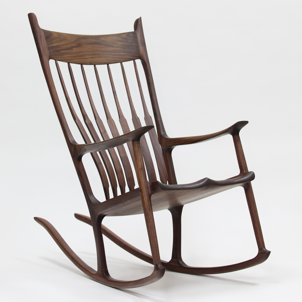 how to make a rocking chair swivel with recliner build maloof inspired sculpted sculptured