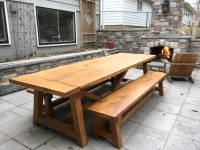 Farmhouse Table & Benches - The Wood Whisperer Guild