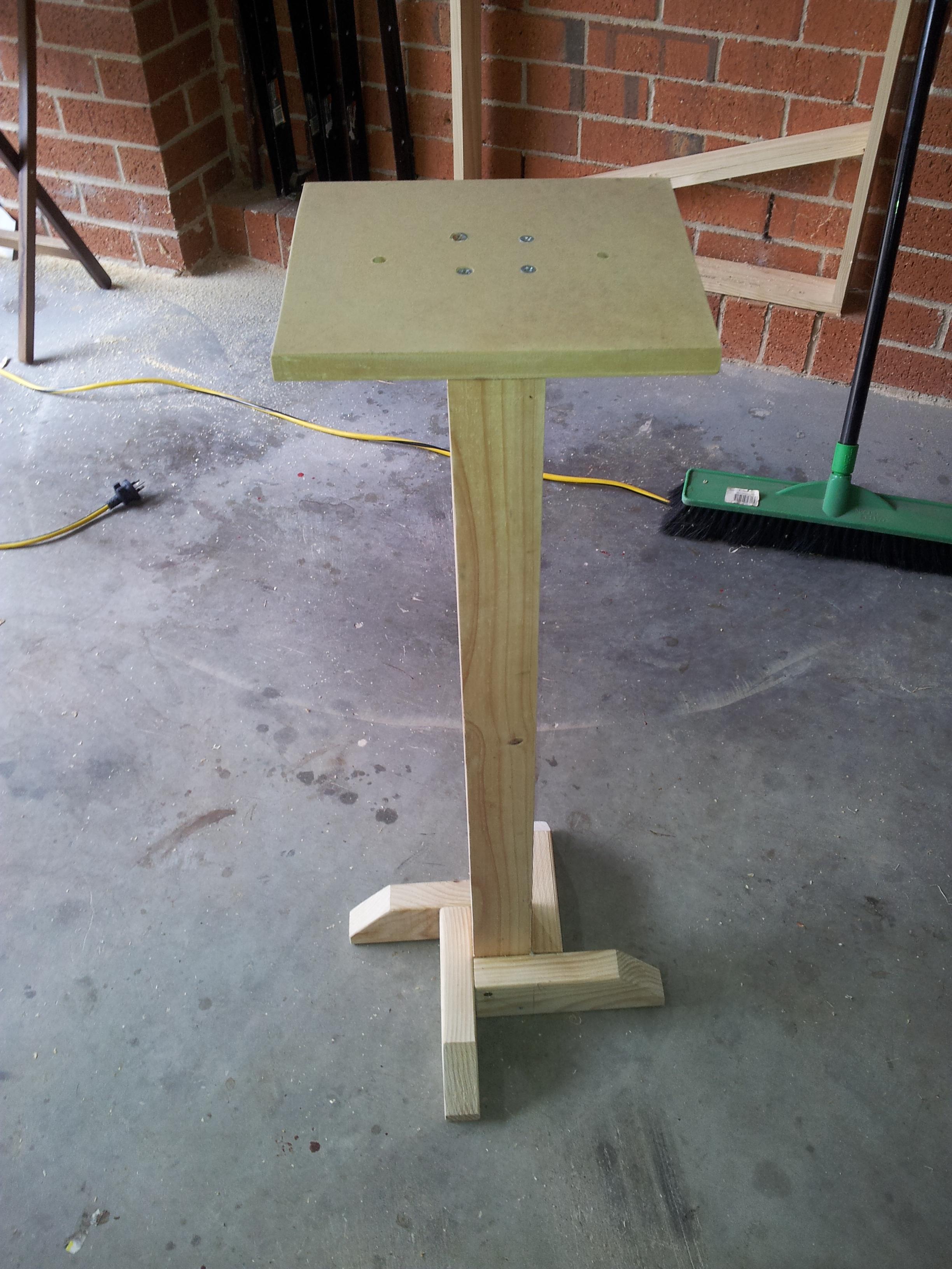 Download Wood Bench Grinder Stand Plans Plans DIY cradle