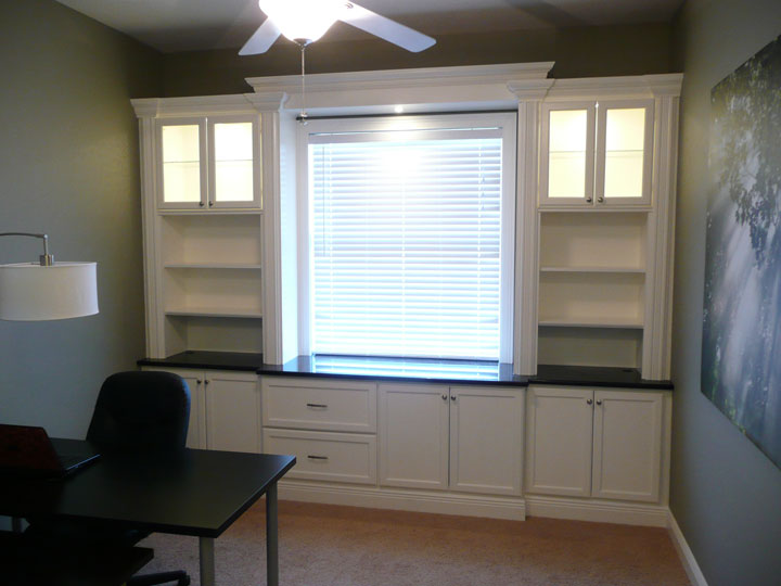 Office/Playroom Built-in