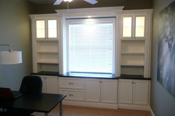Office/Playroom Built-in