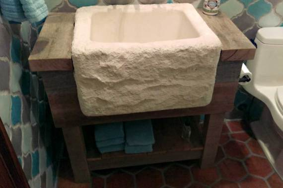 Rustic Vanity Sink