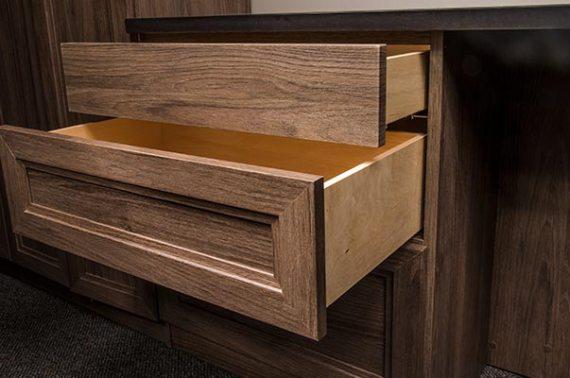New Dovetail Closet Drawers