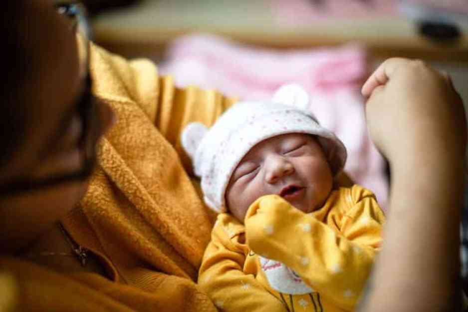 Fewer births during the pandemic