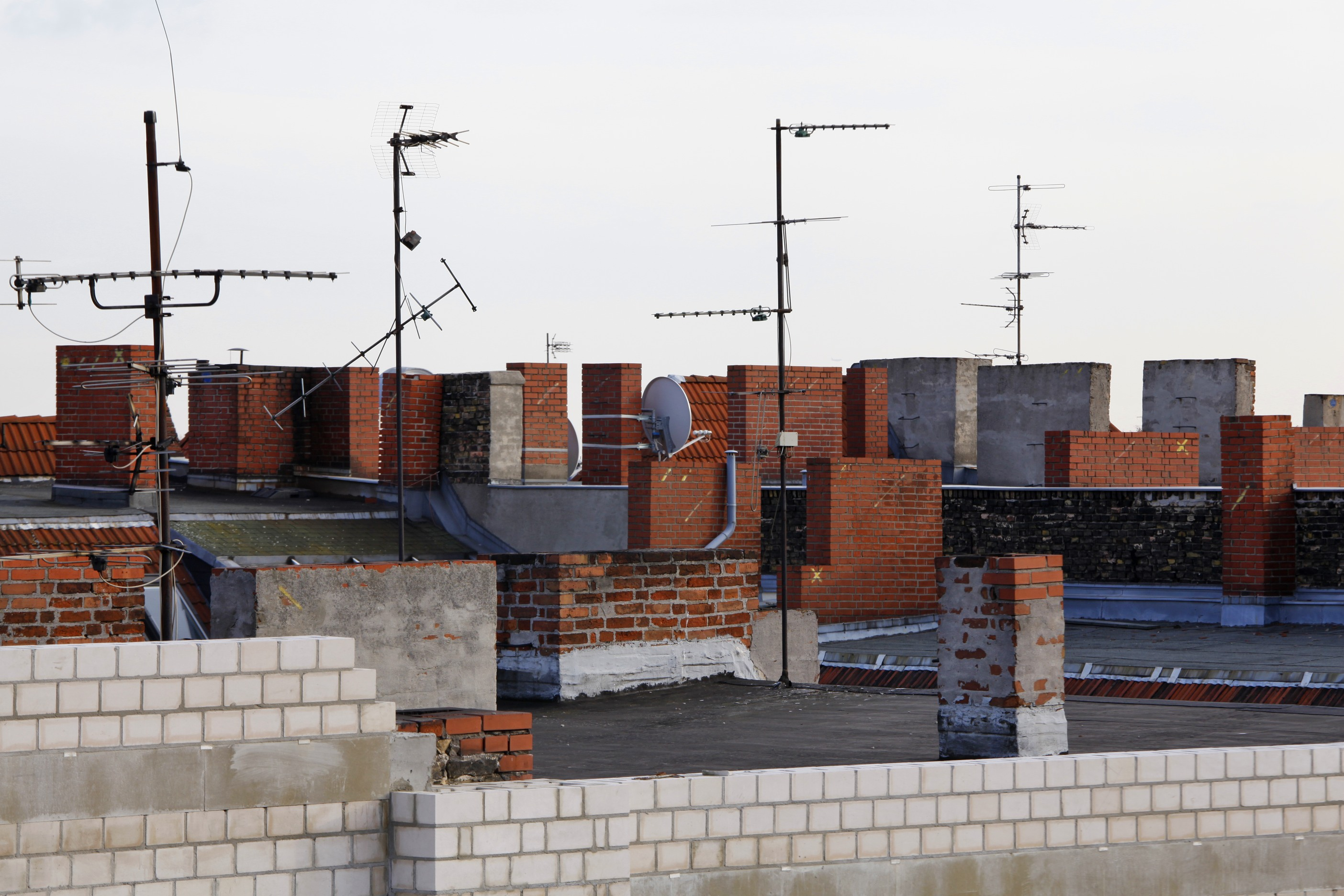 Rooftops Neukölln by Liz Eve, Liz Eve
