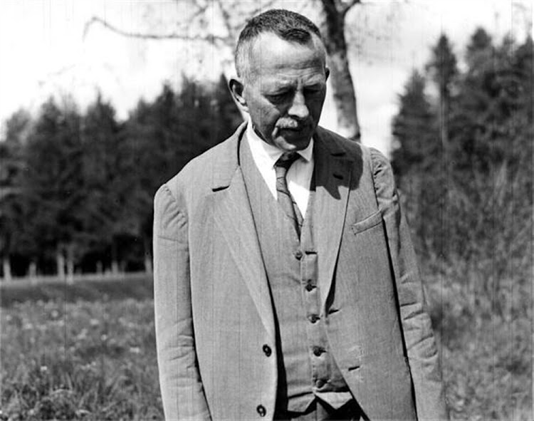 Robert Walser, image copyright New Directions