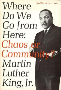 Chaos or Community? Cover image courtesy Beacon Books