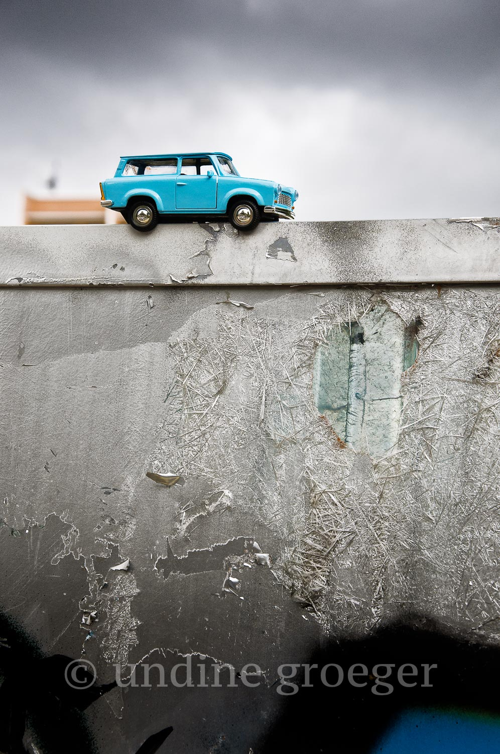 04. Trabant; ©Undine Groeger, from Travelling Exhibition: Within My Walls and Beyond