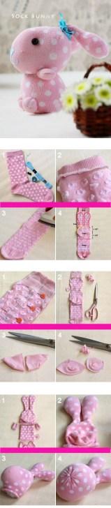 riciclare calze vecchie