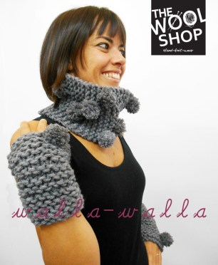 handknitted neckwarmer