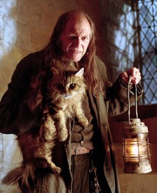 Argus Filch, the caretaker of Hogwarts, seems to have eyes everywhere, just like Argus Panoptes. Photo from www.harrypotter.wikia.com.