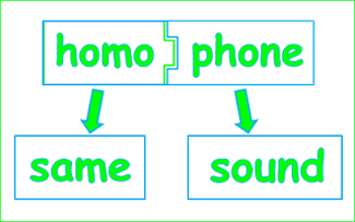 Homophone definition