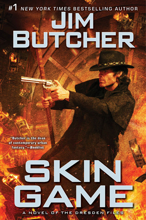 """Cover to """"Skin Game"""" by Jim Butcher"""