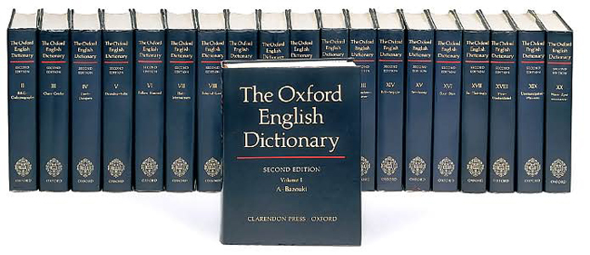 Set of Oxford English Dictionary