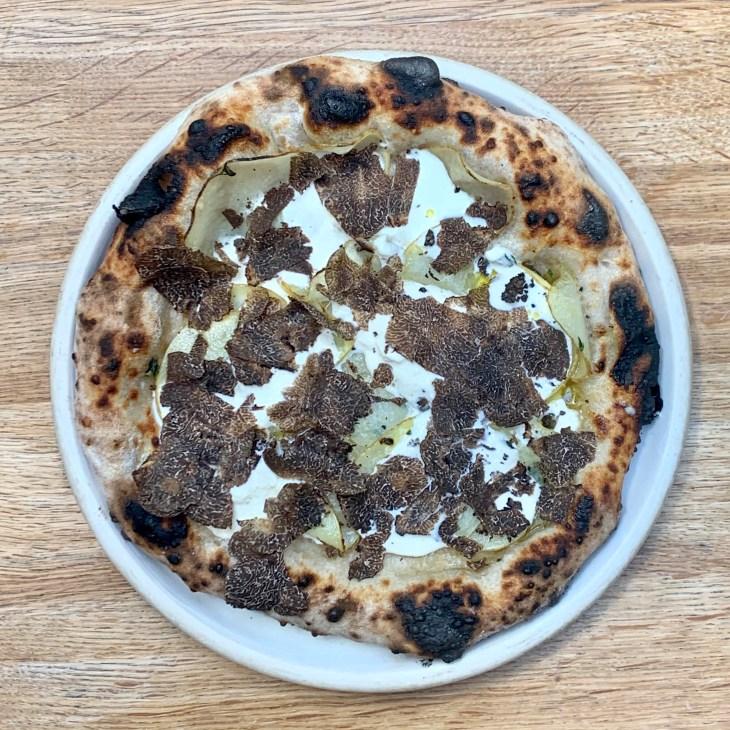 Elliot's - Truffle pizza 2