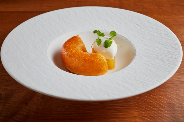 Luke Tipping's Rum Baba With Coconut Chantilly