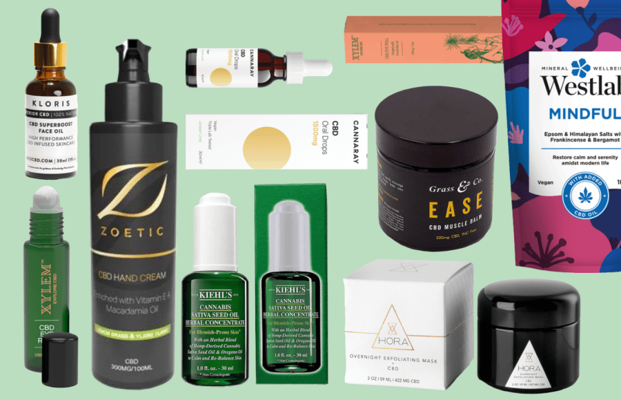 The Best CBD Beauty Products