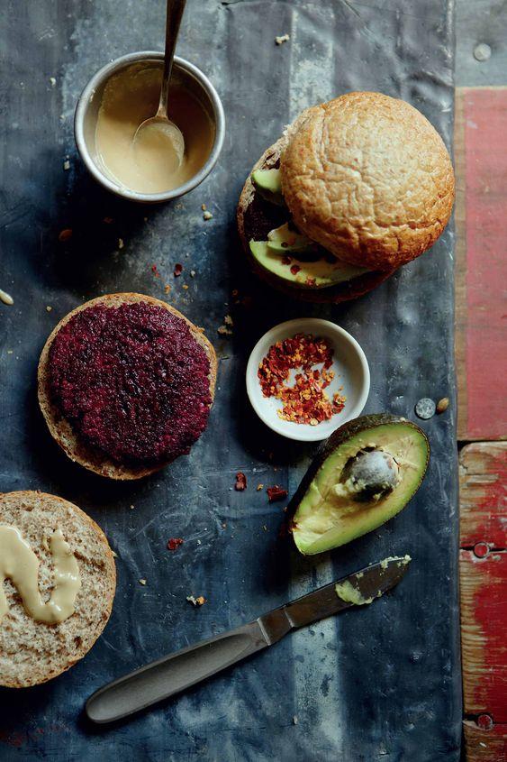 Julie Montagu's Beetroot, Quinoa, Black Bean & Flaxseed Burgers.jpg