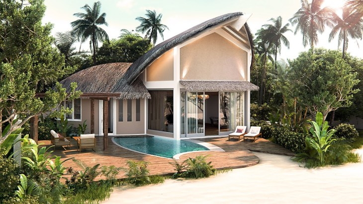 JW Marriott Maldives Resort _ Spa - Beach Pool Villa Exterior