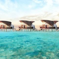 JW Marriott Maldives - Overwater Pool Villa's Exterior Jetty View Render